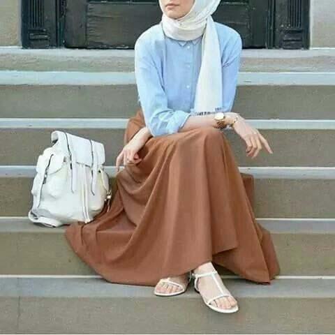 Tenue Hijab moderne