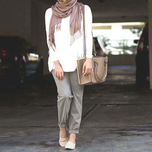 Tenue Hijab moderne11