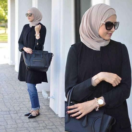 Tenue Hijab moderne16