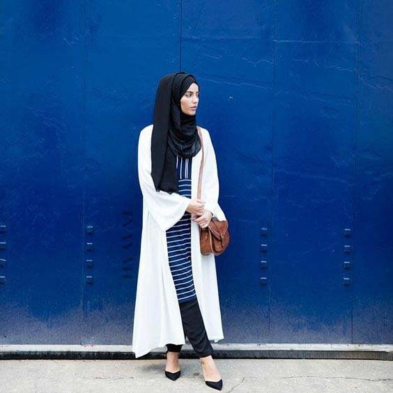 Tenue Hijab moderne2