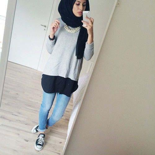 Tenue Hijab moderne21