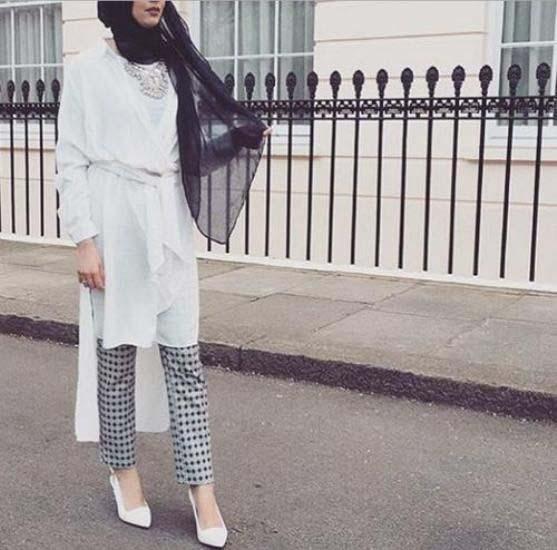 Tenue Hijab moderne22