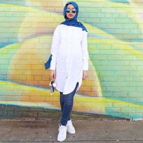 Tenue Hijab moderne3