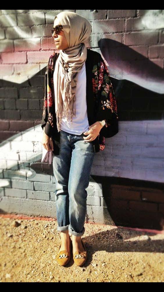 Tenue Hijab moderne4
