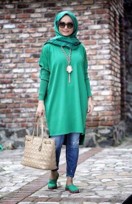 Tenue Hijab moderne5