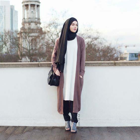Tenue Hijab moderne6