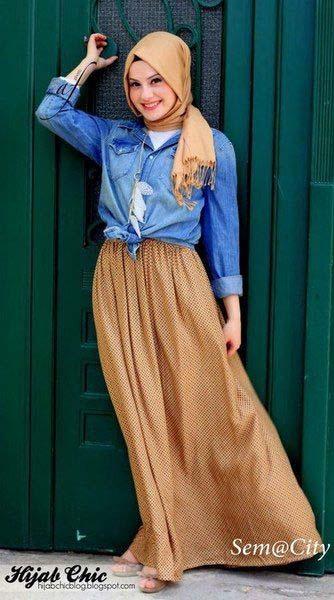 la jupe longue, il suffit de savoir la porter pour l'adopter.1