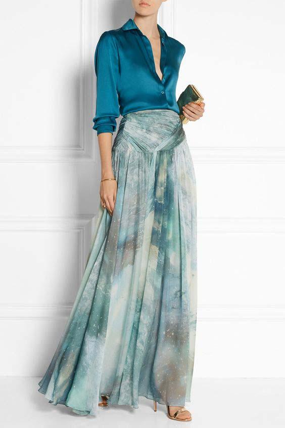 la jupe longue, il suffit de savoir la porter pour l'adopter.7
