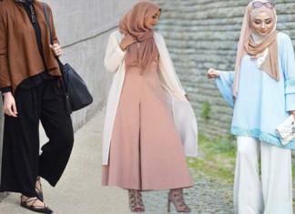 Comment Porter Le Pantalon Large Avec Style \u2013 16 Styles de Hijab Inspirants