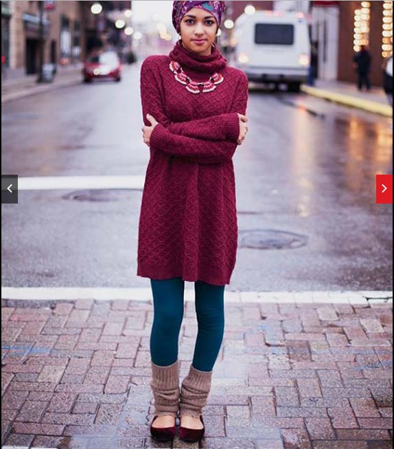 Hijab mode automne hiver 2016-201733