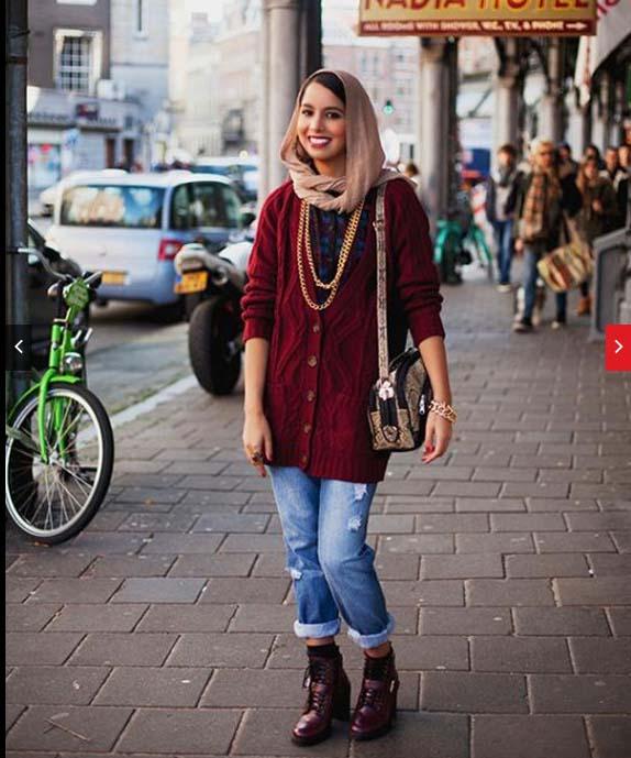 Hijab mode automne hiver 2016-20178