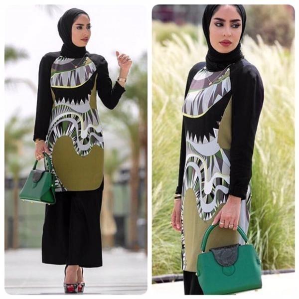 Hijab tendance Automne 10