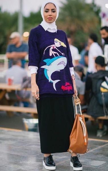 Hijab tendance Automne 3