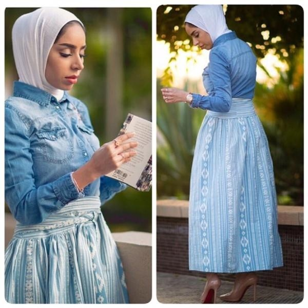 Hijab tendance Automne 4