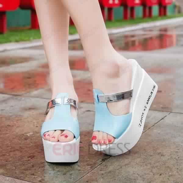 Magnifique Sandales très Classe et Fashion Pas Chères3
