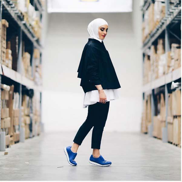 Magnifiques Idées De Tenue Hijab Tendance 2016 Pour vous Inspirer1