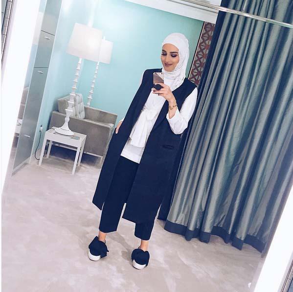 Magnifiques Idées De Tenue Hijab Tendance 2016 Pour vous Inspirer10