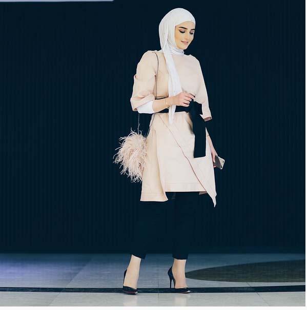 Magnifiques Idées De Tenue Hijab Tendance 2016 Pour vous Inspirer7