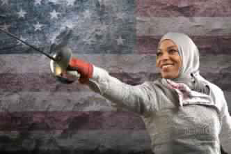 Première Athlète américaine à porter un Hijab au JO