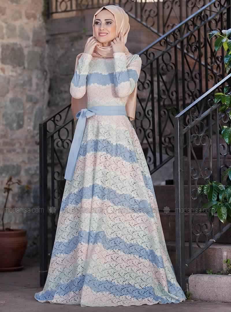 Prix Doux - Robe longue très Sublime pour Femme voilée 2