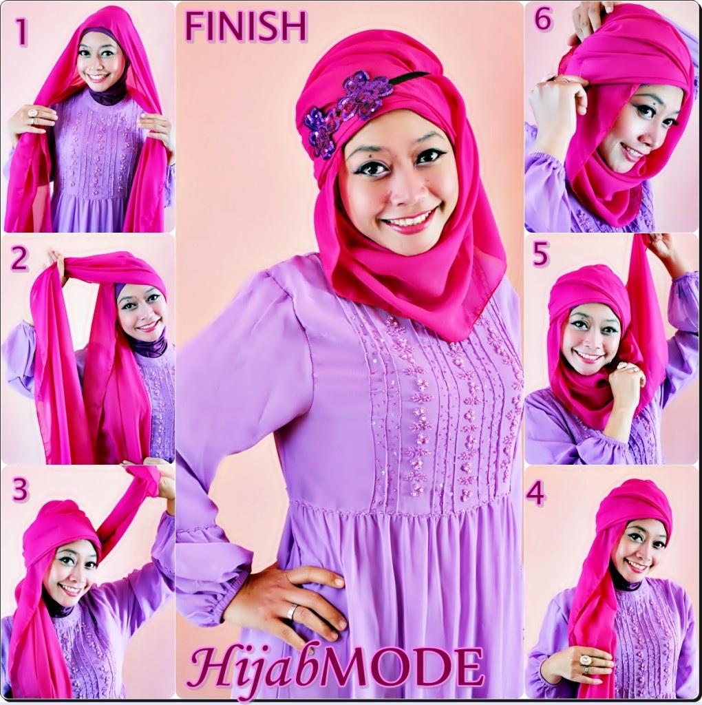 Tutoriel Hijab 13