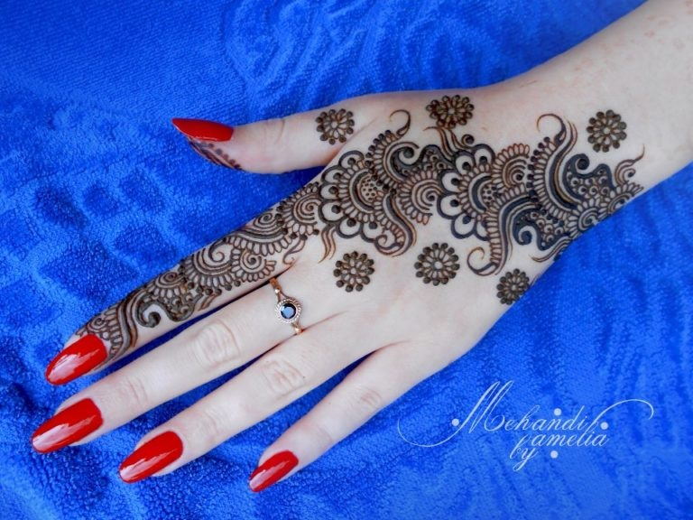 Mari e 2016 voici plus que 30 mod les de henn tr s sublime et tr s classe pour vous inspirer - Modele de henna ...