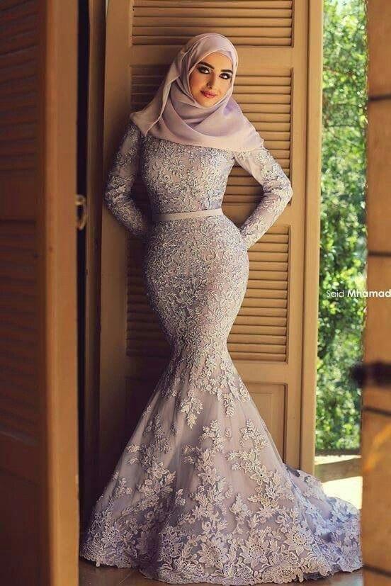 Robe du soir hijab