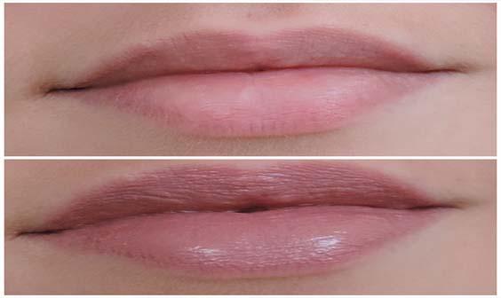 rouge à lèvres Simple et Discret