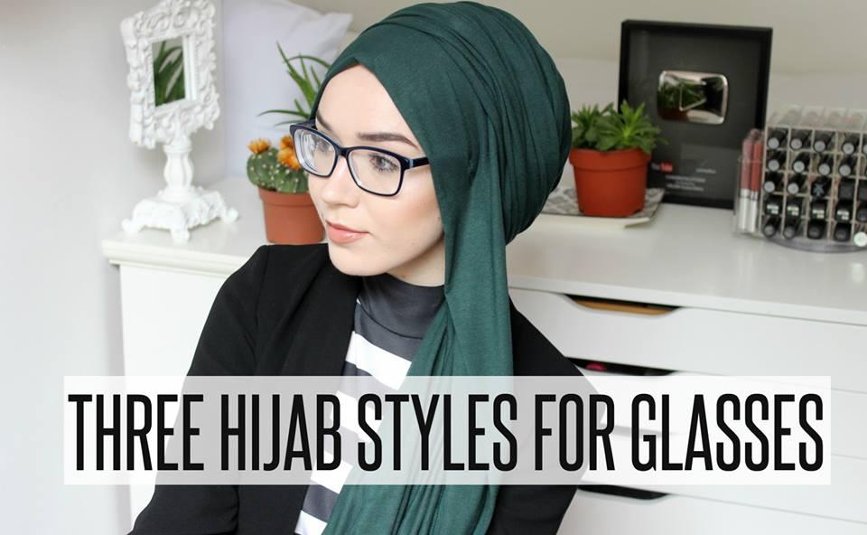 Comment bien mettre Le Hijab et les Lunettes de Vue ensemble ? (vidéo) ,  astuces hijab