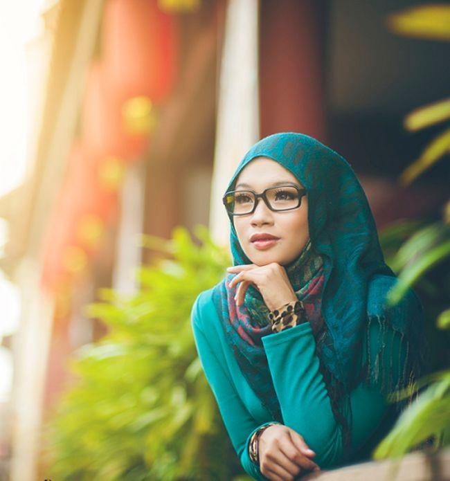 Hijab lunette 1
