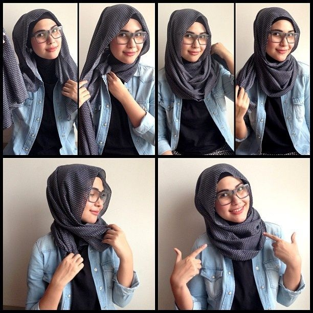 Hijab lunette 4