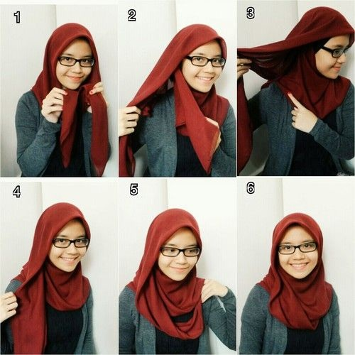 Hijab lunette 5
