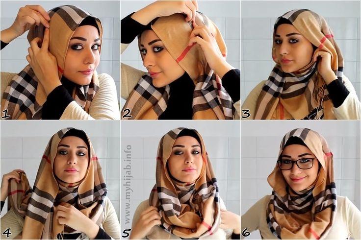 Hijab lunette 6