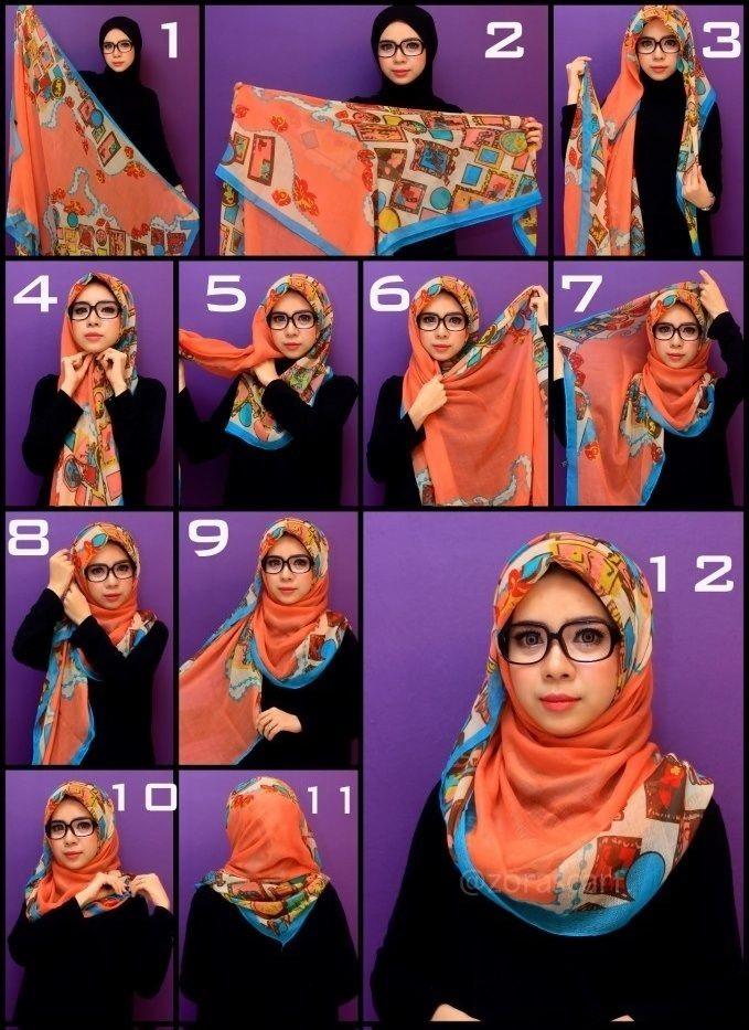 Hijab lunette 7