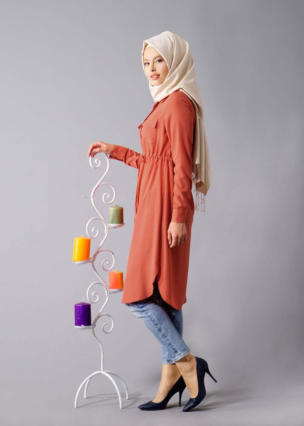 Tunique longue pour Hijab