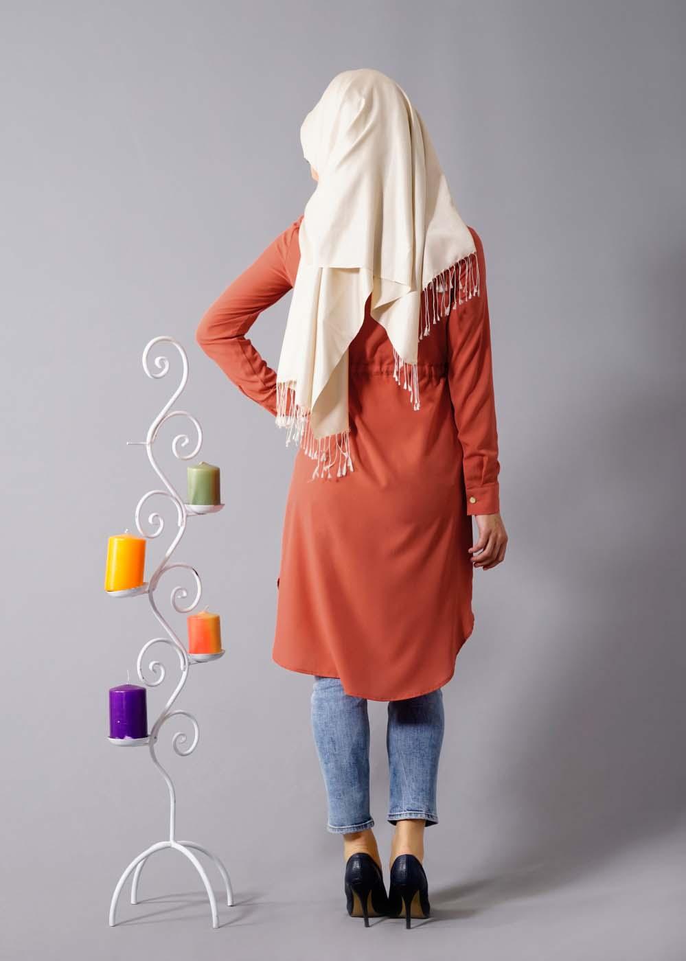 Tunique longue pour Hijab3