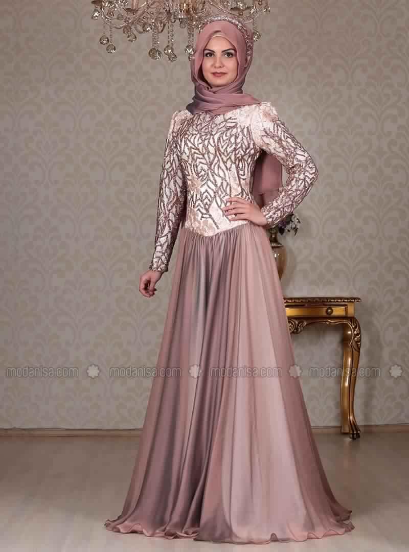 Robe Hijab De Voilee Pour Soiree 10 Femme Astuces rrwC06