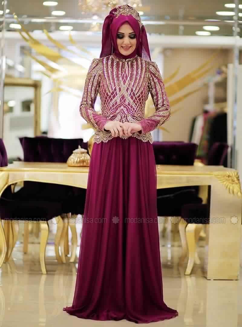 robe-de-soiree-pour-femme-voilee-9