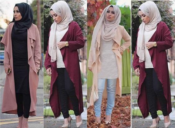 Hijab Style Cardigan Long Et Moderne Pour Hijab Voici Comment Acheter Astuces Hijab