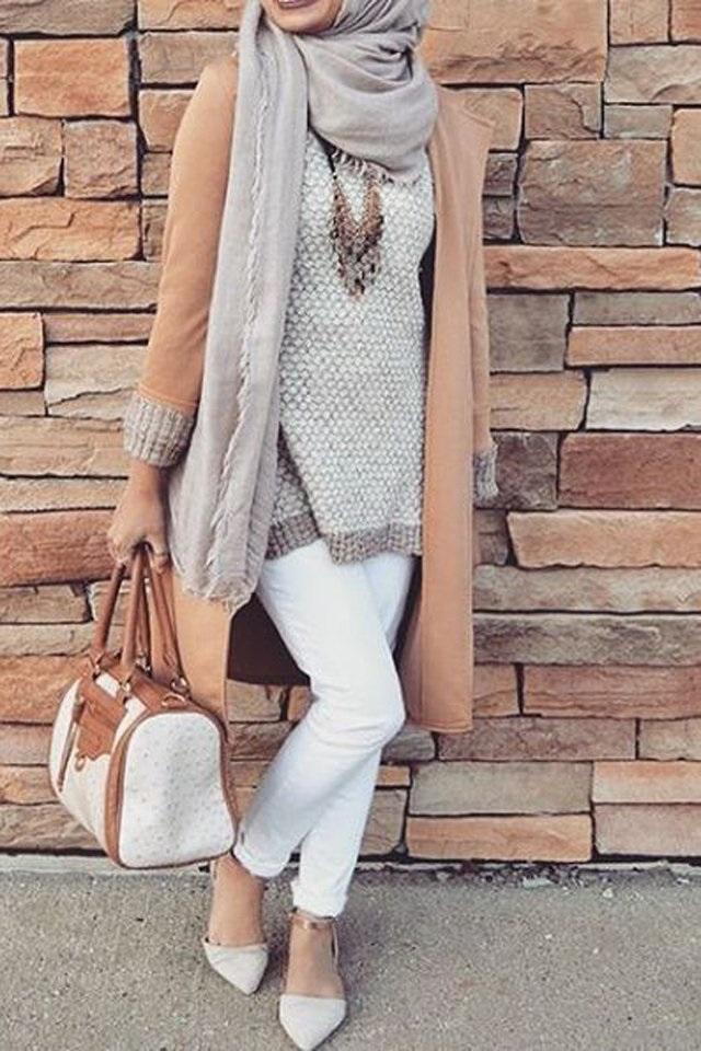 Hijab Mode Hiver 2017 45 Looks De Hijab Fashion Et
