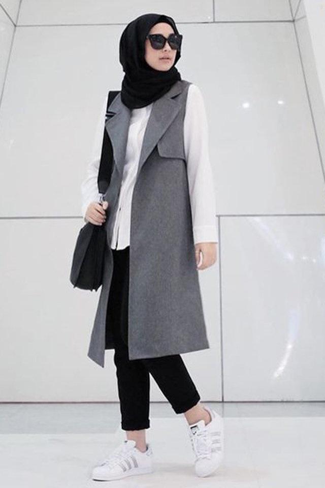 Hijab Mode Hiver 2017 45 Looks De Hijab Fashion Et Modernes Porter En Hiver Astuces Hijab