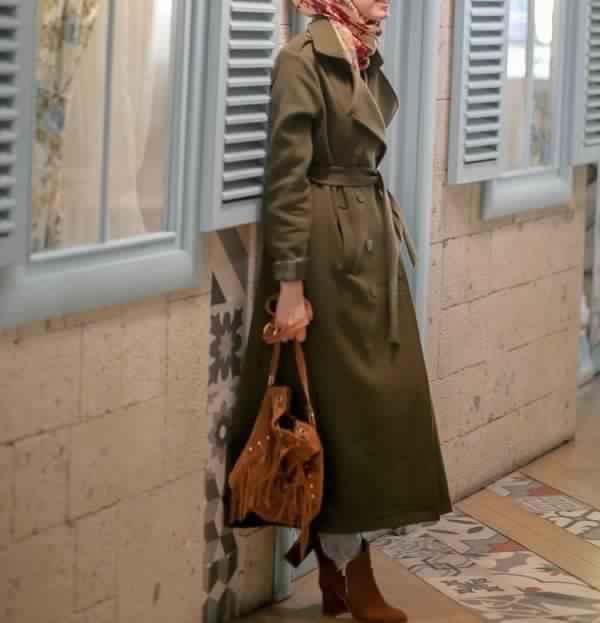 Manteaux femme 2018 hijab