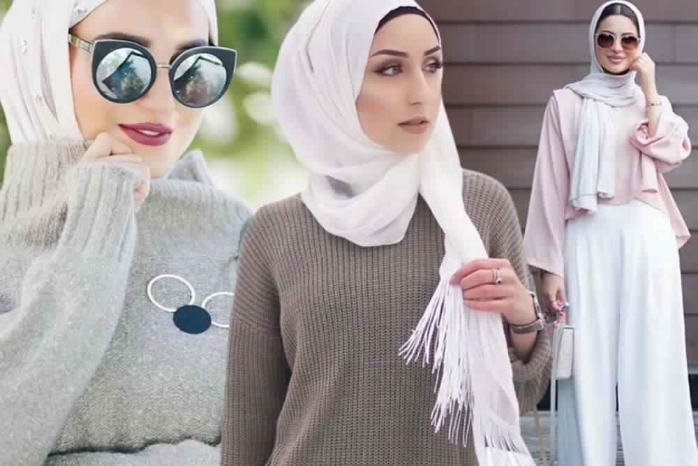 Hijab Hiver 2017 Styles Modernes Et Tendance 2017