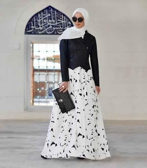 Styles de Hijab Fashion et Modernes 4