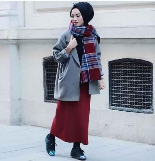 Styles de Hijab Fashion et Modernes 7