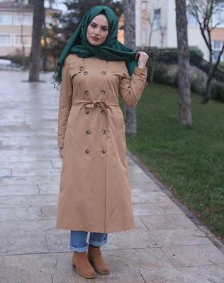 Mode 2017 Femme Hijab Hiver