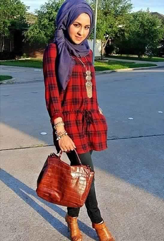 tendances de hijab mode 31 id es de tenue chic et fashion pour para tre plus grande astuces. Black Bedroom Furniture Sets. Home Design Ideas