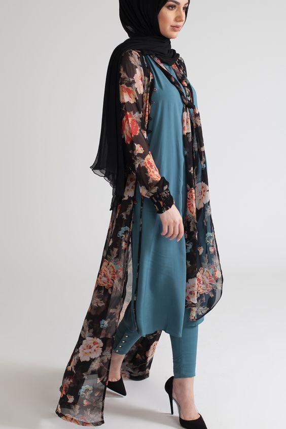 Styles de Hijab moderne et Fashion : Venez Voir Les Meilleurs Modèles !!! 7