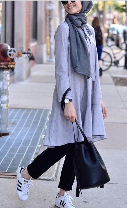 Styles de Hijab moderne et Fashion : Venez Voir Les Meilleurs Modèles !!! 8