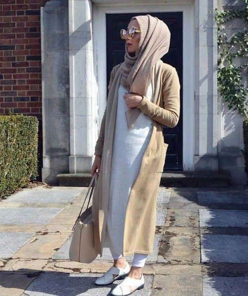 30 Magnifiques Styles De Hijab Fashion Tendance 2017